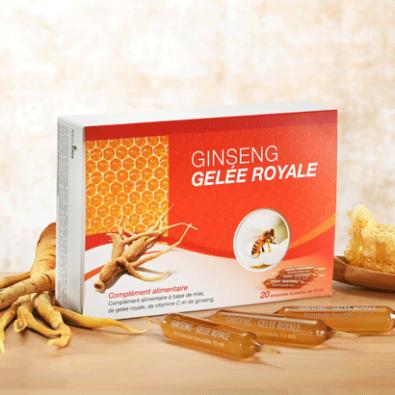 Ginseng gelée royale