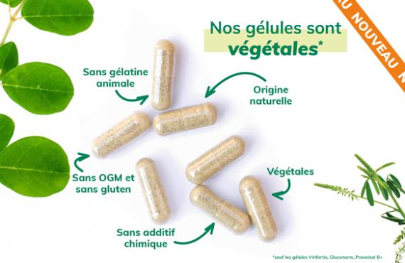Pourquoi utiliser des gélules végétales?
