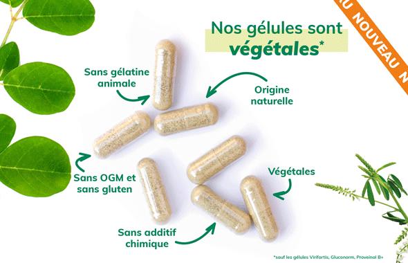 gélules végétales